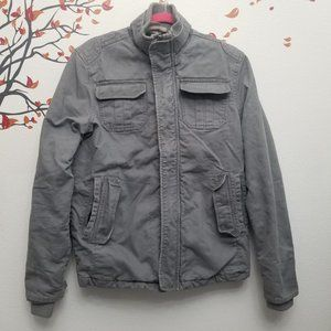 Urban Outfitters All Son Military Gray Jacket S/P